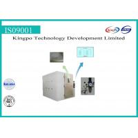 China Stepping Type Dust Test Chamber , Dust Testing Equipment 380V 50HZ wholesale
