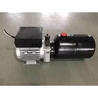 China AC380V 0.75KW motor 2.1cc/r gear pump with 6L steel tank Hydraulic Power Unit for Dock Leveler wholesale