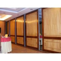 China Commercial Wooden Aluminum Acoustic Room Dividers / Office Folding Panel Partitions wholesale