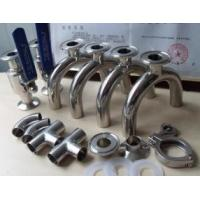 China 1/2 Inch - 8 Inch Stainless Steel Pipe Fittings Sanitary Elbow , Bend , Tee , Reducer,3A,SMS,DIN wholesale