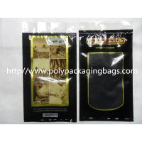 China Moisturized System Cigar Humidor Bags Ziplock With Slider Easy Open And Close wholesale