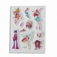 China Foam and PVC Stickers, Suitable for Decoration, Customized Designs are Accepted wholesale