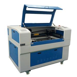 Buy cheap CO2 Laser Engraving Cutting Machine For Leather Laser Engraving Machine from wholesalers