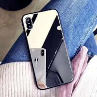 Buy cheap Beautiful Smartphone Mirror Phone Case Mobile Phone Accessories For Iphone X from wholesalers