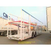 China 2 Axles Car Carrier Transport Semi Trailer Double Layers Carry 8 Units Vehicle on sale