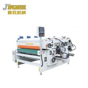 China Thick Fiber Board Wood Coating Machine Surface Paint Finishing  PLC Microcomputer Control wholesale