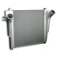 China Automobile Charge Air Cooler Finned Tube Heat Exchanger / Bar and Plate Structure Aluminum  wholesale