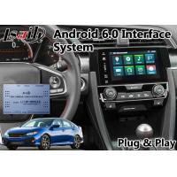 Buy cheap Honda Video Interface for New Civic , Android GPS Navigation with Youtube Mirror from wholesalers