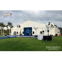 Flame Retardant Outdoor Event Tents / Clear Span 10 x 30 Party Tent