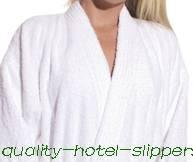 China hotel terry/toweling bathrobes on sale