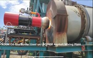 China XDEM ZOB Oil Gas Dual Fuel Burner for Metal Smelting Drying Kiln / Heat Treatment / Steamer/Asphalt Plant wholesale