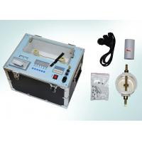 China ZJY Insulating Oil Dielectric Strength Test Equipment 80KV / 100KV Light Weight wholesale