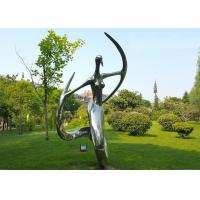 Buy cheap Polished Stainless Steel Abstract Outdoor Metal Sculpture for Garden from wholesalers