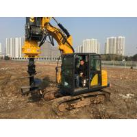Quality Small Rotary Driling Rig Boring Rig for Different Construction Stratum TYSIM KR40A Rotary Piling Rig wholesale