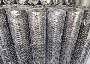China Heat Keeping Hot Dipped Galvanized Hexagon Metal Mesh 30m Length wholesale
