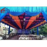 China Outdoor Party Aluminum Stage Truss Square Shape Silver Colr 400mm X 400mm Size wholesale