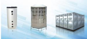 China 50L Stainless Steel Pressure Water Tank For Air Source Heat Pump Buffer Tank wholesale