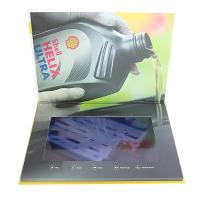China Custom Buttons Control LCD Video Brochure , IPS LCD Screen Video Brochure wholesale