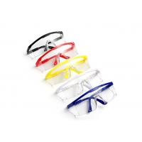 China Anti Fog Anti Scratch 1pc/Bag Clear Safety Glasses wholesale