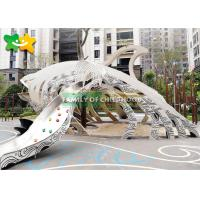 China Residential Area Theme Park Equipment LLDPE Material Long Service Life wholesale