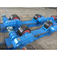 Buy cheap Welding Pipe Roller Tank PU Roller  Turning Rolls Bolt-shift Inverter speed from wholesalers