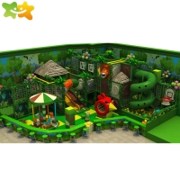 China Jungle Theme Kids Center Play Games Facilities Indoor Playground Equipment For Kids wholesale