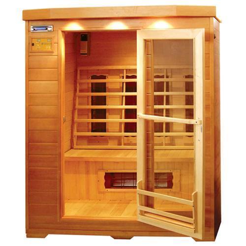 Quality Wooden Far Infrared Sauna Room(hemlock dry sauna house) for sale