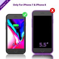 China Protection Lighting Interface Charging Phone Cases , External Battery Case Capacity3000mah wholesale