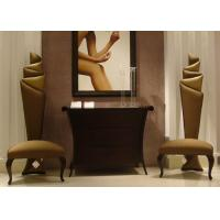 Quality Accent  Modern Lobby Furniture Wooden Console Table And Chairs For Entrance for sale