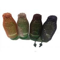 China Customized Aluminum Alloy Chainmail Ring Metal Ring Mesh Wine Bottle Bag wholesale