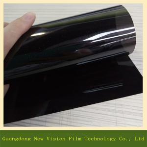 China Best quality black heat resistant car tint film solar window insulfilm with 10% VLT wholesale