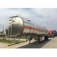 China Low Fuel Consumption 45-70 CBM #90 King Pin Fuel Tank Truck IFA/SGS on sale