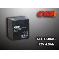 China 4AH GEL1240AG 12v sealed rechargeable battery Maintenance Free For Solar System wholesale
