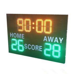 China Blue Color Wireless Football Scoreboard , Portable Digital Scoreboard Various Styles wholesale