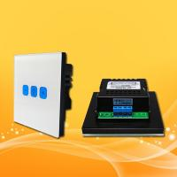 Buy cheap Linkage Function Full Smart Home System / Wifi Smart Dimmable Light Switch from wholesalers