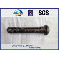 China Q235 40Cr HS26 / HS32 Railway Bolt Track Bolts With Bitumen / Dacromet wholesale
