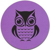China Owl Picture Velcro Carpet Markers / Carpet Mark Its 100% Nylon Material wholesale