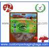 Quality Clear Plastic Fruit Packaging Slider Zipper Bags , Apple / Grape Bag for sale