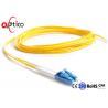 China 1M 3ft Fiber Optic Pigtail Duplex LC PC Single Mode Customized Color CATV Connection wholesale