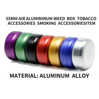 China Sealed Aluminum Alloy Metal Storage Cans Tobacco Weed Accessories Diameter 55mm wholesale