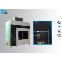 Buy cheap Vertical / Horizontal Flame Apparatus Lab Testing Equipment 5V / HB/ V-0/1/2 from wholesalers