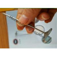China Galvanized Steel Lacing Anchors , Insulation Pins And Clips With Hook Head wholesale