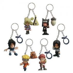 China Naruto PVC keychain,3D keychain,action figure wholesale