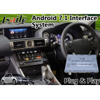 Buy cheap Android 7.1 Audio Interface System for Lexus Is 350 with Mouse Control Carplay from wholesalers