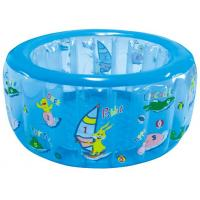 China Plastic Round Baby Inflatable Swimming Pools ,134x57cm Kids Playing Water Pools wholesale