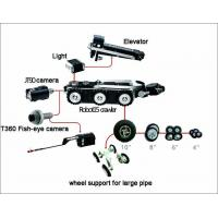 TVS-15 High Definition Underground Main Pipe Inspection Camera , CCTV Sewer Pipe Inspection Equipment Robot