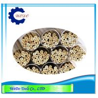 China Multi Hole EDM Brass Tube Electrode Pipe 2.0x400mm For EDM Drilling Machine wholesale