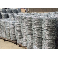 China Security 25kgs Per Roll Fence Circular Barbed Wire wholesale