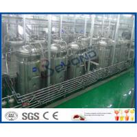 Buy cheap Tubular UHT Sterilizing Mango Processing Line With Aseptic Filling Machine from wholesalers