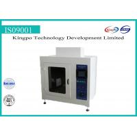 Buy cheap IEC60598-1 IEC60112 Materials Flame Test Equipment Proof Tracking Index Tester from wholesalers